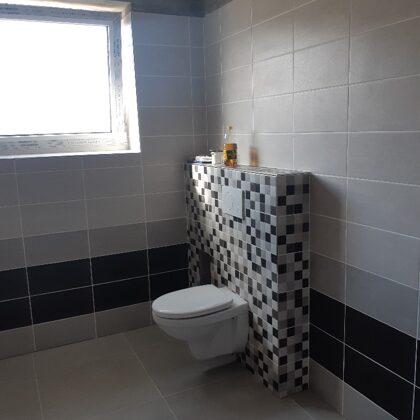 Kompletní realizace koupelny.